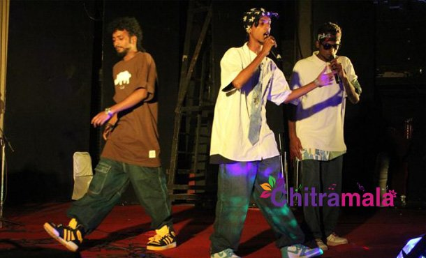 Rap group in Rajini's Kaala