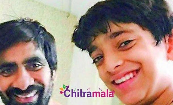 Ravi Teja's Son Making His Debut