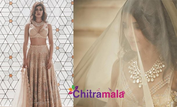 Samantha- wedding lehenga