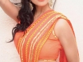 Pooja-Kumar-Hot-in-Red-Saree
