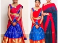 Roja-Daughter-Anshu-Half-Saree-Ceremony