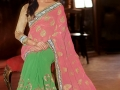 Samantha-Photo-Shoot-in-Green-and-Pink-Saree