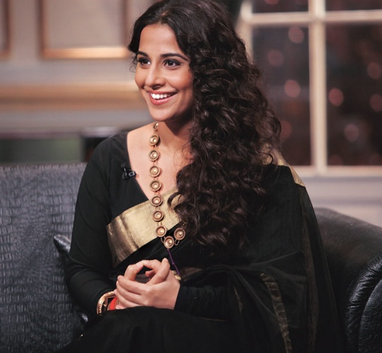 Vidya at Koffee with Karan