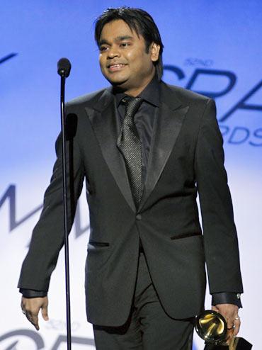 Rahman's straight hair
