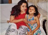 Meena with her Daughter Latest Photos
