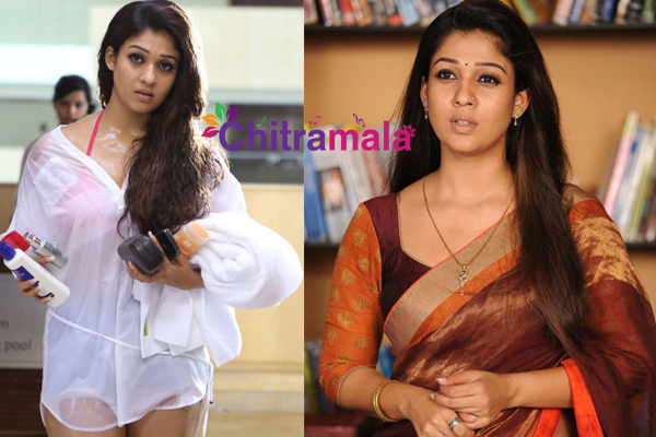 Nayanatara Hot and Ethnic Look