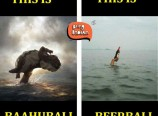 Baahubali Funny Cartoon Pics