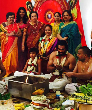 Actor Madhavan Son Upanayanam Function