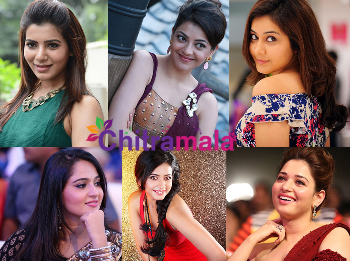 Tollywood Top Actresses