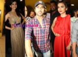 celebs at bruce lee premiere show at prasad imax