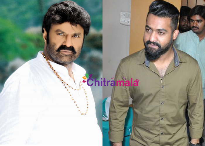 clash between NTR and NBK