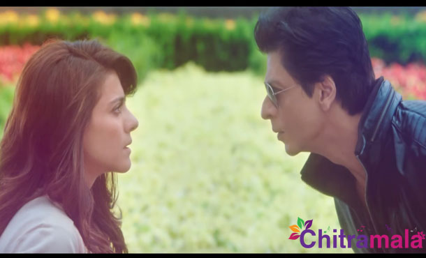 Kajol and Shah Rukh in Dilwale