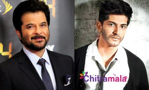Anil Kapoor and his Son
