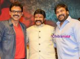 NBK, Chiru and Venkatesh at Gautami Putra Satakarni Launch Event