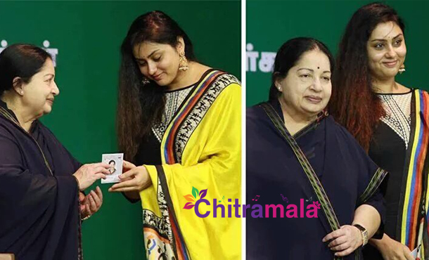 Actress namitha joins aiadmk for tn elections 2016 namitha joins aiadmk thecheapjerseys Images