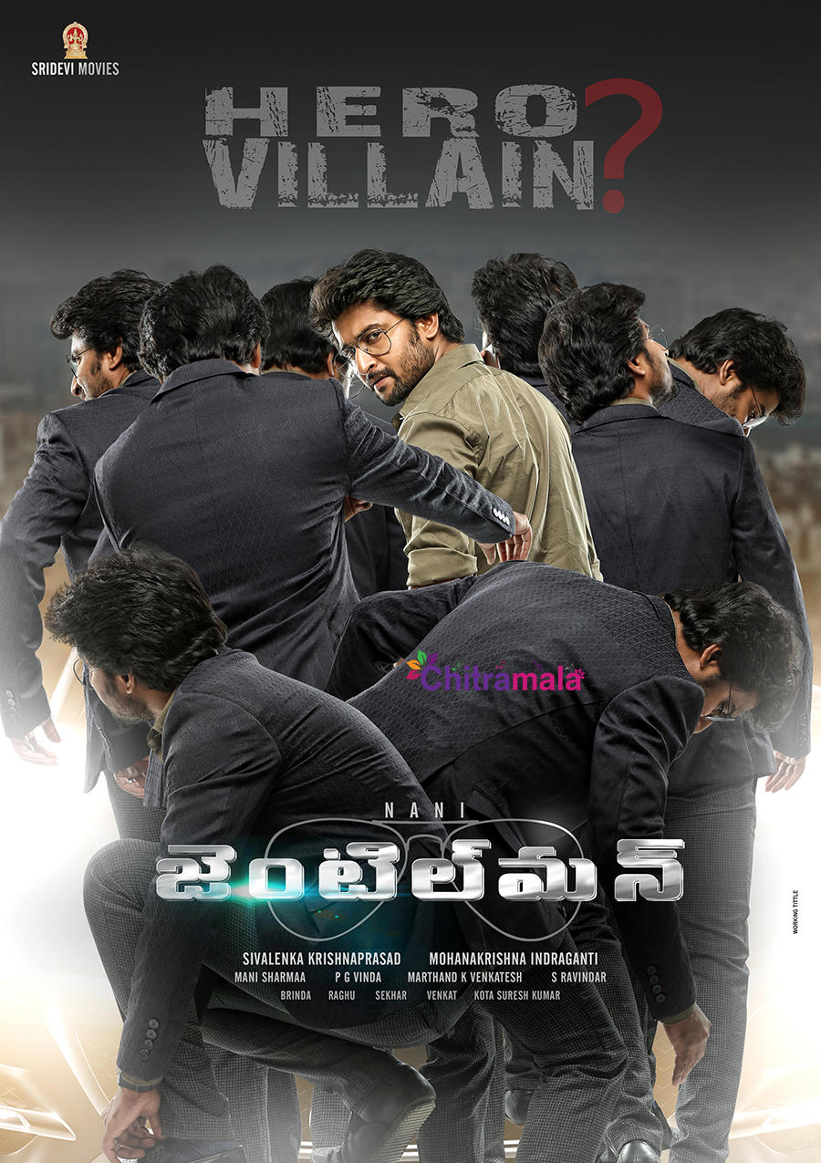 Nani First Look in Gentleman