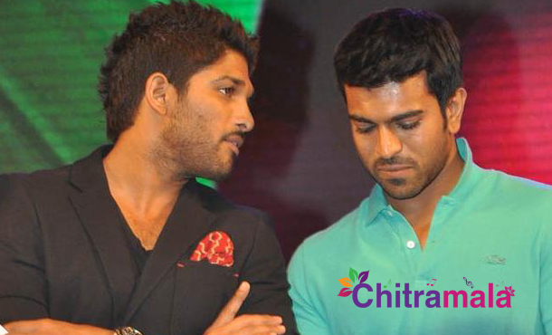 Allu Arjun and Ram Charan in Chiru 150