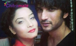 Ankita and Sushanth Singh Rajput