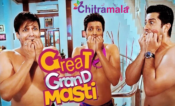 Vivek in Great Grand Masti
