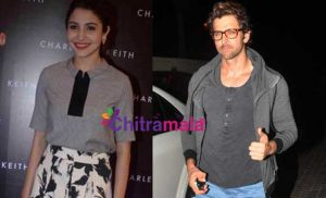 Anushka Sharma with Hrithik Roshan