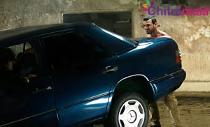 John Abraham Lifts A Car