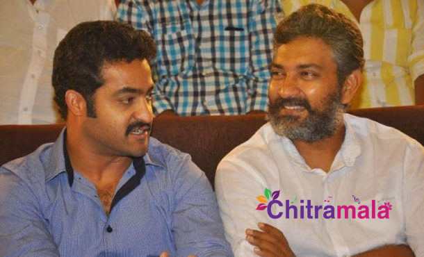 SS Rajamouli and Jr NTR