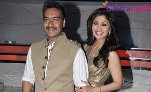 Ajay Devgn and Shilpa Shetty