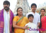 Srikanth Family in Tirumala