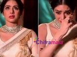 Sridevi Cries in Live Show