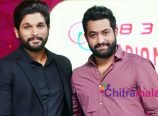 Jr NTR and Allu Arjun