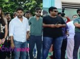 Mahanubhavudu Movie Song Launch at Stmarys College Photos