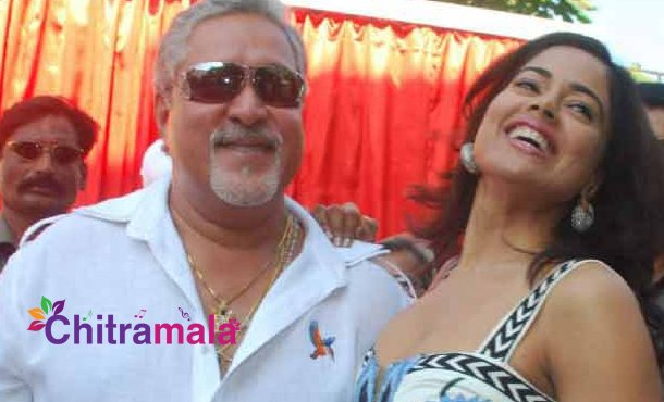 Vijay Mallya and Sameera Reddy