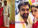 Chiranjeevi Sarja and Meghana Raj Engagement