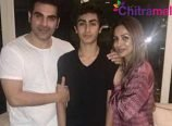 Malaika and Arbaaz Son