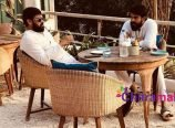 Ram Charan and Chiranjeevi
