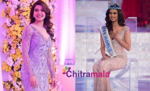Samantha and Manushi Chhillar