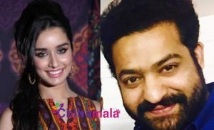 Jr NTR and Shraddha Kapoor