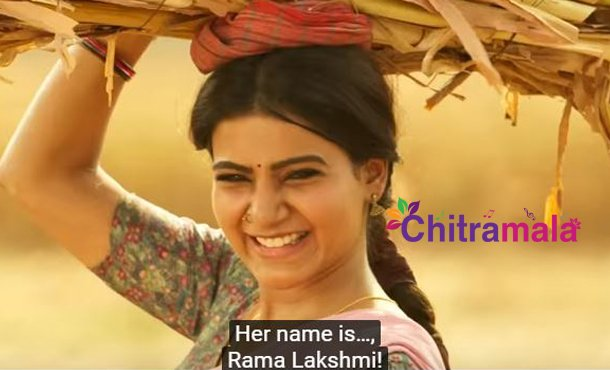 Samantha Akkineni is Rama Lakshmi in Rangasthalam