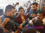 Samantha in Krishnagiri
