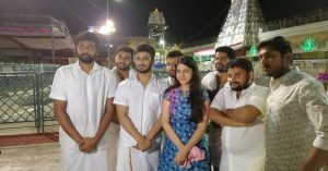Kirrak Party Team in Tirumala