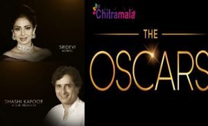 Oscar Pays Tribute to Sridevi and Shashi Kapoor