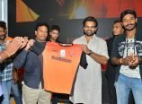 Sai Dharam Tej Launches Sunrisers T Shirt