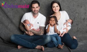 Sunny Leone Mother For 2 Kids