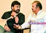 Chiranjeevi and Mohan Babu