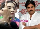 Sri Reddy About Pawan Kalyan