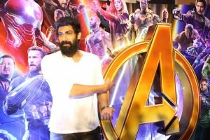 Rana Daggubati At Avengers Press Meet