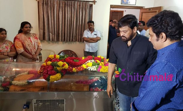 Rao Ramesh Mother Died