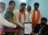 Saikumar Files Nomination