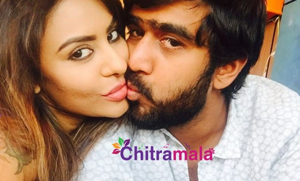 Sri Reddy and Abhiram