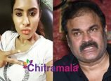 Sri Reddy and Nagababu